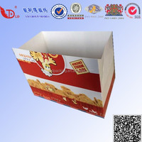 Disposable Chinese restaurants packing box,food packaging box, paper carton bxo