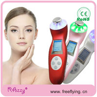 New products 2014 ultrasound+galvanic+photon led light therapy machine for home use
