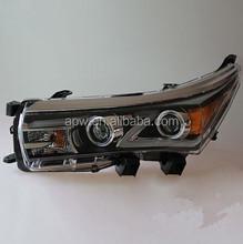 2015 Toyota Corolla Altis Head Lamp with Black Housing
