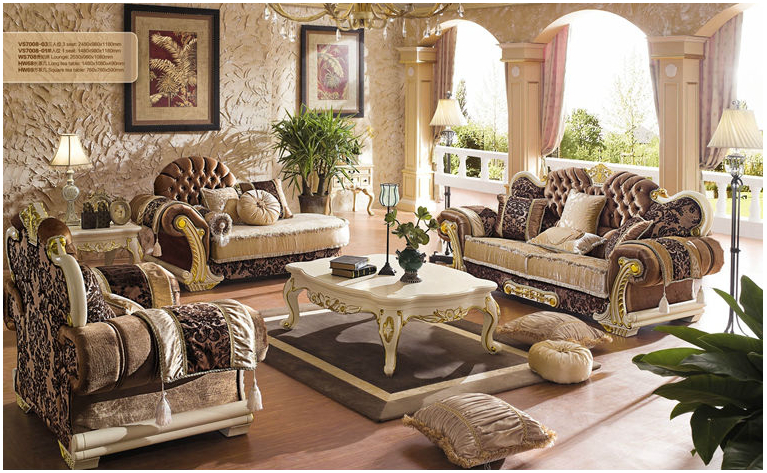 Delicieux Online Furniture Chenille Fabric In Market Dubai