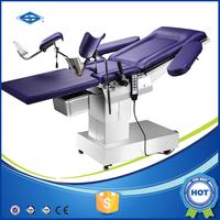 Portable electric gynecological examination table