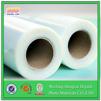 silicon clear cling decorative films for windows
