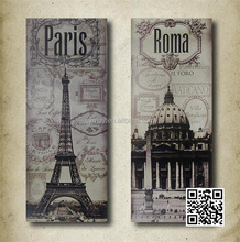 Euro/european fashion Home decoration Aluminum sheet engraved embossed home/coffee/pub use cheap price painting