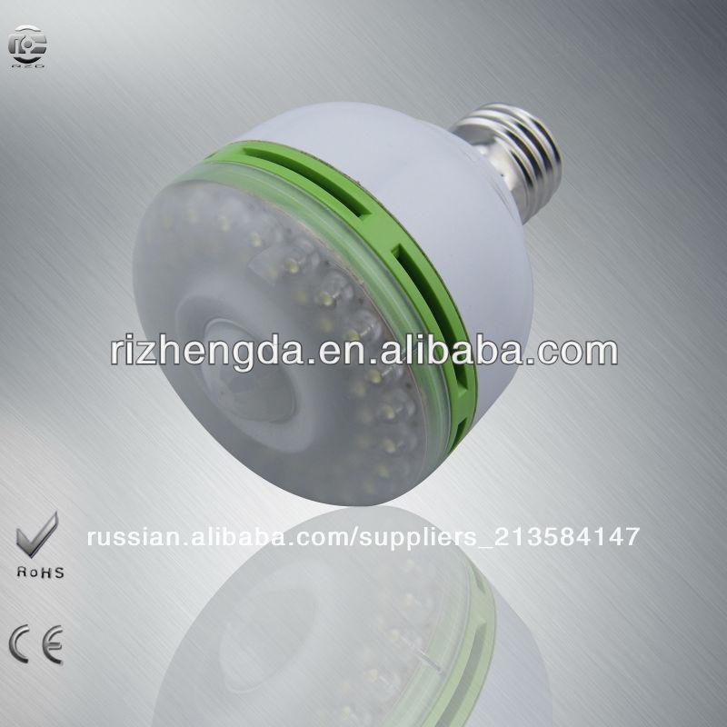 европейской современным дизайном провал f5 epistar pir датчик движения светодиодная лампа лампы
