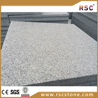Flamed g603 natural granite garden wall stone