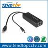 Active PoE Splitter 10/100Mbps 12V 1A IEEE802.3af End-Span Midspan for IP Camera
