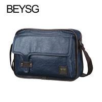 Handmade Leather Messenger Bag For Cameras BEYSG Soft Pu Bags