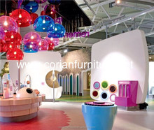Acrylic solid surfaces made smart kids furniture /kindergarten furniture