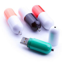 Novelty Medical Usb Pill Shape Pen Drive 8gb