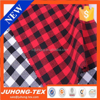 Classical 100 cotton twill y d check fabric