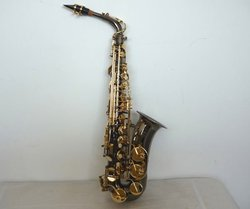 Black/Red/Green Alto Saxophone for sale