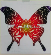 Colorful 3D Flocked Heat Transfer Printing logo for clothes