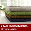 100% polyester imitation linen look fabric linen polyester blend fabrics