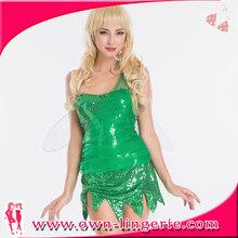 las niñas princesa de cuento de hadas de fantasía traje de vestir