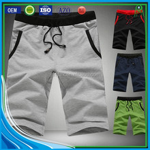 Custom Breathable Cotton Polyester Blend Men's Sweat Shorts Wholesale