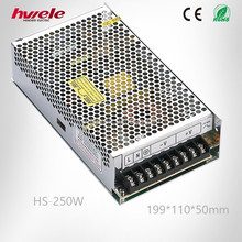 HS-250W 12v switching mode power supply led driver with CE ROHS KC 2 years warranty