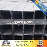 ERW Carbon erw rectangular steel pipe Tube for Scaffolding