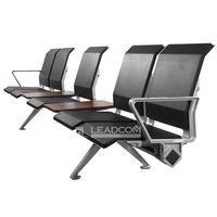 China No. 1 manufacturer Leadcom hot sale PU padded airport seating waiting chair (LS-529Y)