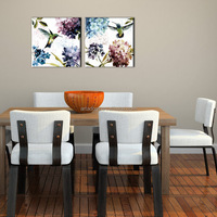Cheapest Modern Abstract Canvas Oil Painting Flowers Pictures