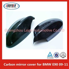 Car Styling Carbon Side Wing Mirror Cover Trim For BMW E90 09-11