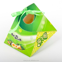 The Dragon Boat Festival candy packaging boxes,Traditional Chinese rice-pudding paper box supplies