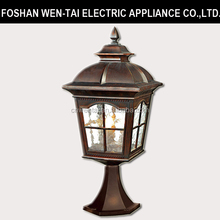 main gate design lamp home/outdoor fence wall/fashion outdoor waterproof lighting fitting 110V/220V E27 LED Lamp
