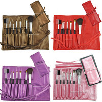 Beauties Factory 7pcs Makeup Brushes Set - 4 Colors Available