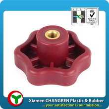 embeded plastic nut, cheap plastic injection molding