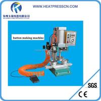 High quality full auto Pneumatic badge making machine