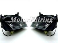 smoke Motorcycle Racing Sport Headlight Street Fighter Parts Headlight Lamp Housing Fairing Signal Fit For CBR600RR 2007-2012
