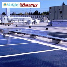 Hanergy high efficiency 230w flexible solar cell solar panel