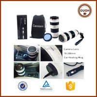china manufacturer camera lens electric heater coffee cup warmer