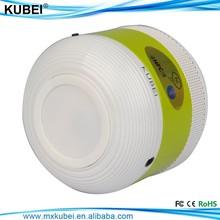 bluetooth wireless mini portable speaker with led and FM radio
