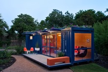 Luxury mobile living container house/homes for sale