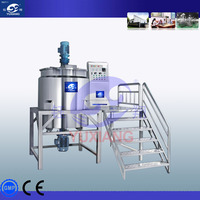 500L shampoo making production line liquid detergent production plant made in China