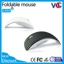 VMW-21 2015 latest fashion wireless mouse optical mouse fold mouse