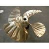 Four Blade Copper Alloy Marine Fixed Pitch 39 Inches Propeller