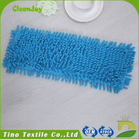 Short Plush Mop Head High Quality Spin Chenille Mop Replacement Parts