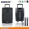 WIith VHF Wireless Microphone 45w AK12-308 bluetooth sound speaker