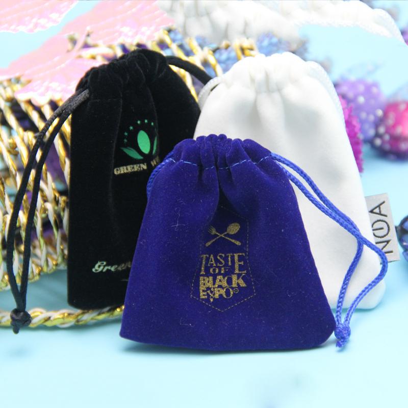 ઘરેણાં કોમેસ્ટિક પેકિંગ માટે જથ્થાબંધ રંગીન સસ્તી સસ્તી ડ્રોસ્ટ્રિંગ બેગ