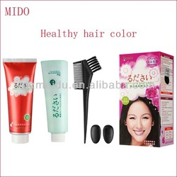 MIDO Get rid of ammonia smell drouble professional hair color brand names use in salon and family