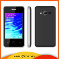 """Used 3.5""""Touch Screen Dual SIM Black Camera WAP Simple Mobile Phones For Sale In China T300"""