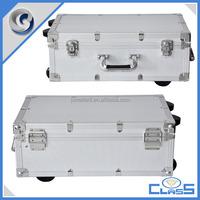 MLD-TC254 Professional Custom Heavy Duty Power Strong Flight Aluminum Trolley Case