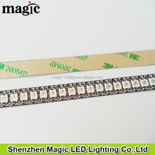 DC5V 1M WS2812B 144 LED/m Strip of Addressable Pixels, like neopixel. adhesive back