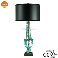 New handmade table lamp,decorative turquoise table lamp home decor with ul/CE