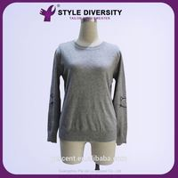 Hot New Products High-End Handmade Vintage Customized Design European Garment Woolen Sweater Designs For Ladies