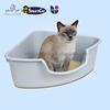 Pet toilet / Pet cleaning box / Durable Plastic cat litter tray