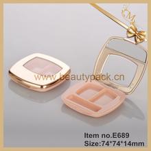 shiny metal color eyeshadow makeup case