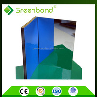 Greenbond 4mm aluminum composite panel for exterior decorative metal wall panel in taizhou