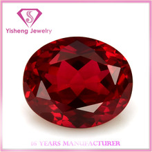 Facet Oval Cut Red Loose Color Ruby Factory Price